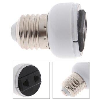 Accesorios para conector de clavija de EE. UU./UE de ABS E27 de...