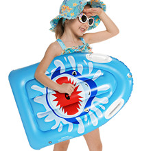 Children's Inflatable Surfboard Row For 3-10 Years Old Kids Floating Toys Swimming Ring for Beach Pool Support Dropshipping