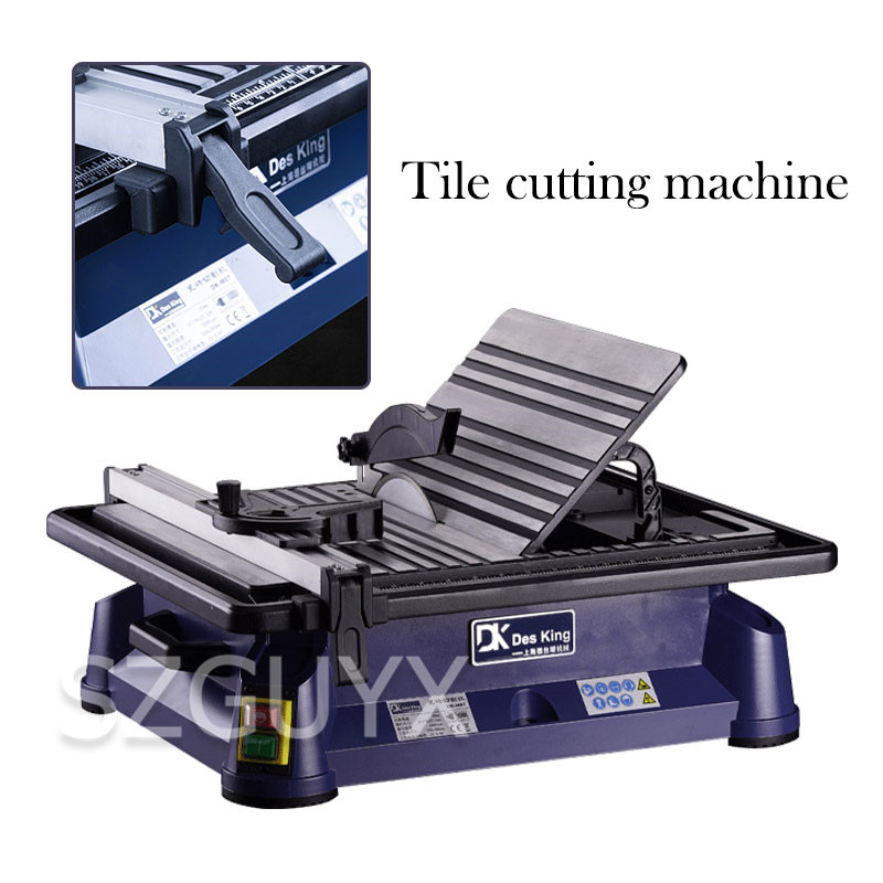 Household Portable Tile Cutter Electric 45 Degree Chamfering Machine Desktop Jade Cutting Machine Water Cutting Machine