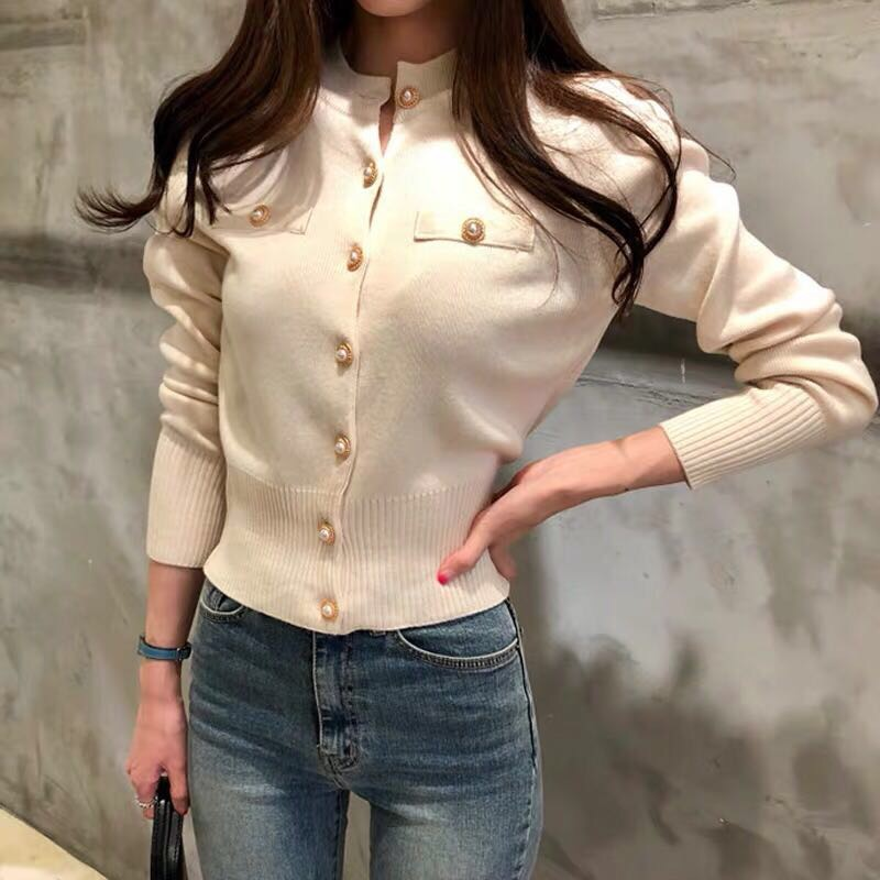 Fa2264 2019 New Autumn Winter Women Fashion Casual Warm Nice Sweater Korean Sweater Cardigan