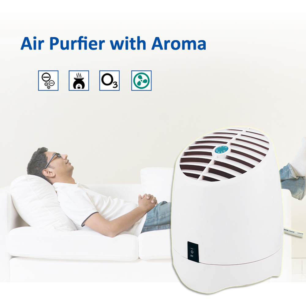 20W Home And Office Air Purifier With Aroma Diffuser Ozone Generator And Ionizer Ozone Air Purifier Fresh Air Low Noise