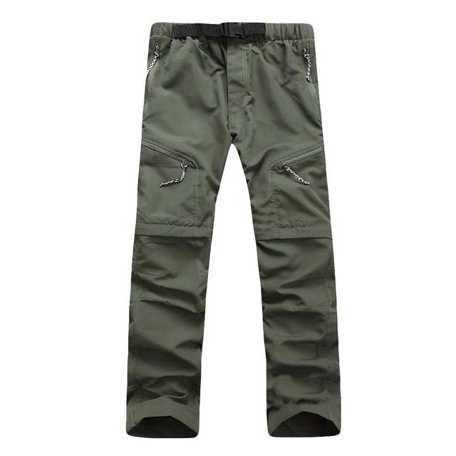 Summer Men's Quick Dry Removable Breathable Trousers Camping Trekking Fishing Shorts