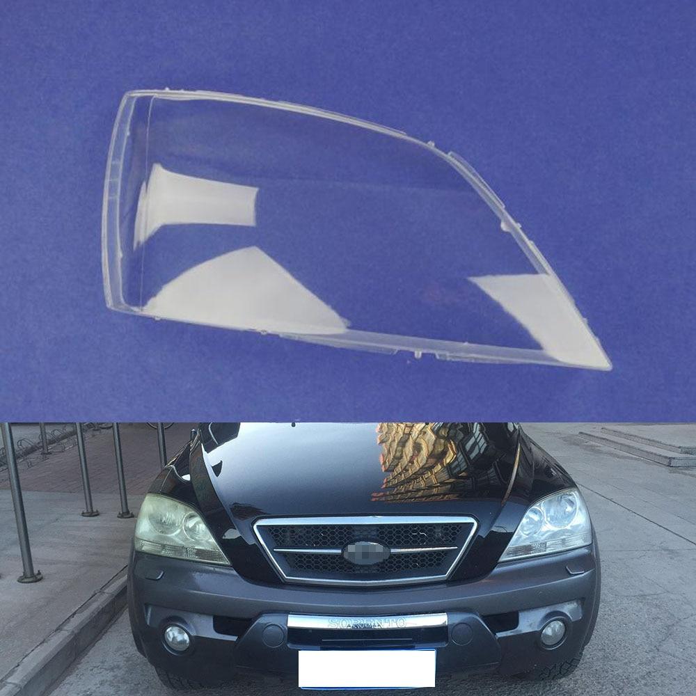 Car Headlamp Lens For Kia Sorento 2004 2005  Car  Replacement   Auto Shell Cover