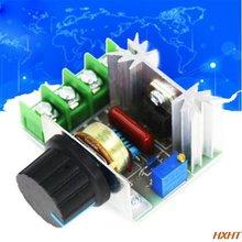 Регулятор скорости переменного тока 220 в 2000 Вт scr регулятор