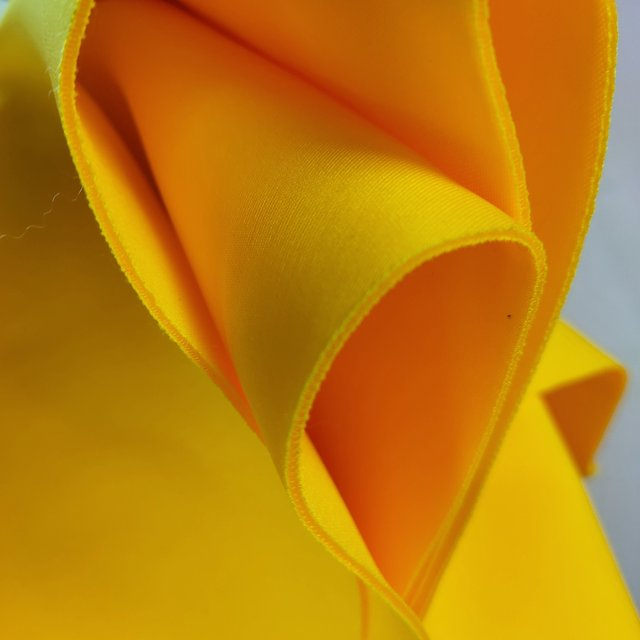 Yellow Party One Shoulder Ruffles Dress 8