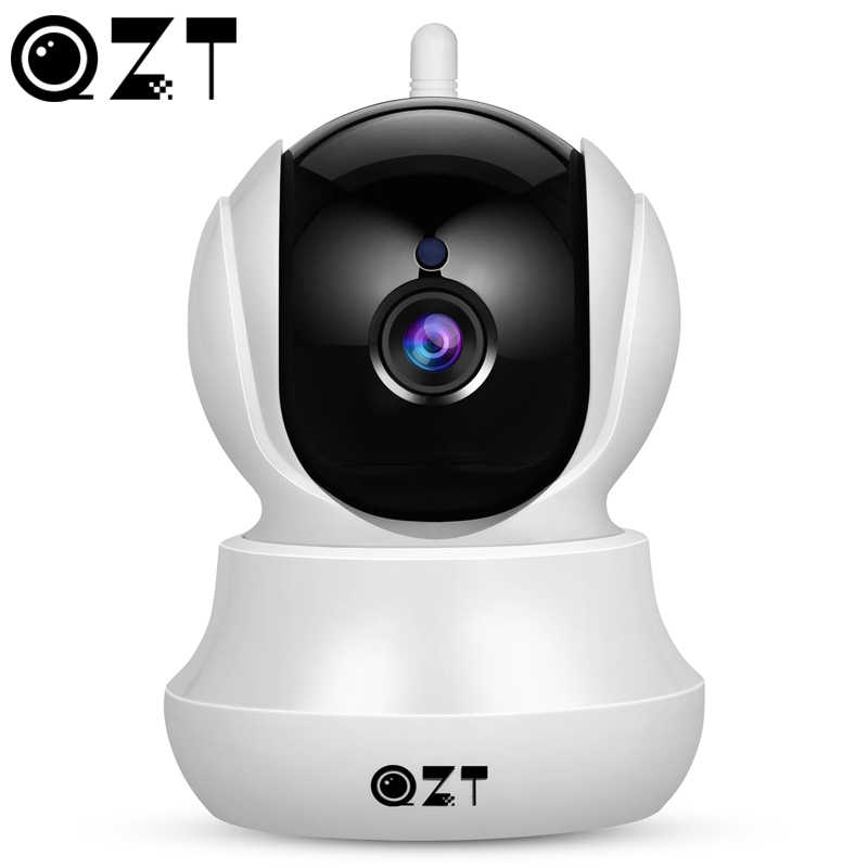 Qzt Draadloze Ip Camera Home Security Hd Wifi Camera Met Pan/Tilt/Zoom Twee-weg Audio Night nachtzicht Voor Ios Android