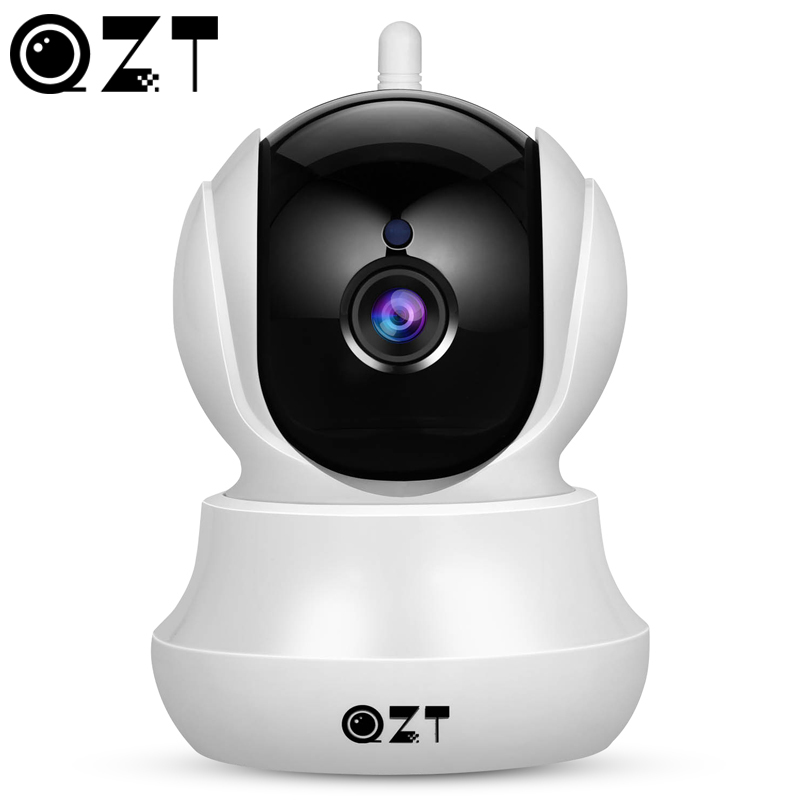 QZT Wireless IP Camera Home Security HD Wifi Camera With Pan/Tilt/Zoom Two-Way Audio Night Night Vision For IOS Android