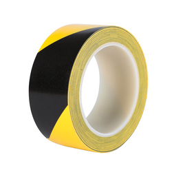 33m*55mm Self-adhesive Hazard Warning Tape Strong Adhesive Safety Traction Tape Indoor Outdoor Stairs Floor Stickers Grip Tape