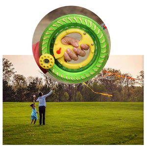 Portable Plastic Kite Wheel wi
