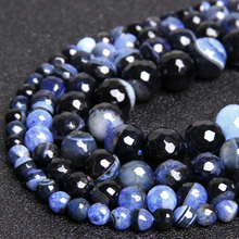 цены Natural faceted blue smooth Agates beads Quartz Druzy Geode stone Beads natural agates spacer loose beads for jewelry making diy