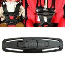1 adet araba emniyet kemeri tokası ped yastık bebek emniyet koltuk askısı koşum kemeri göğüs çocuk klip güvenli toka dayanıklı siyah
