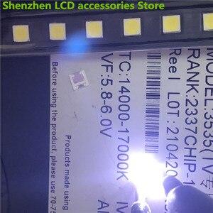 Image 2 - 1000 قطعة ل LG 3535 2 واط 6 فولت 240ma 3535 SMD LED استبدال LG inنوت k تلفاز LCD الضوء الخلفي الخرز إضاءة خلفية للتلفاز ديود إصلاح تطبيق التلفزيون
