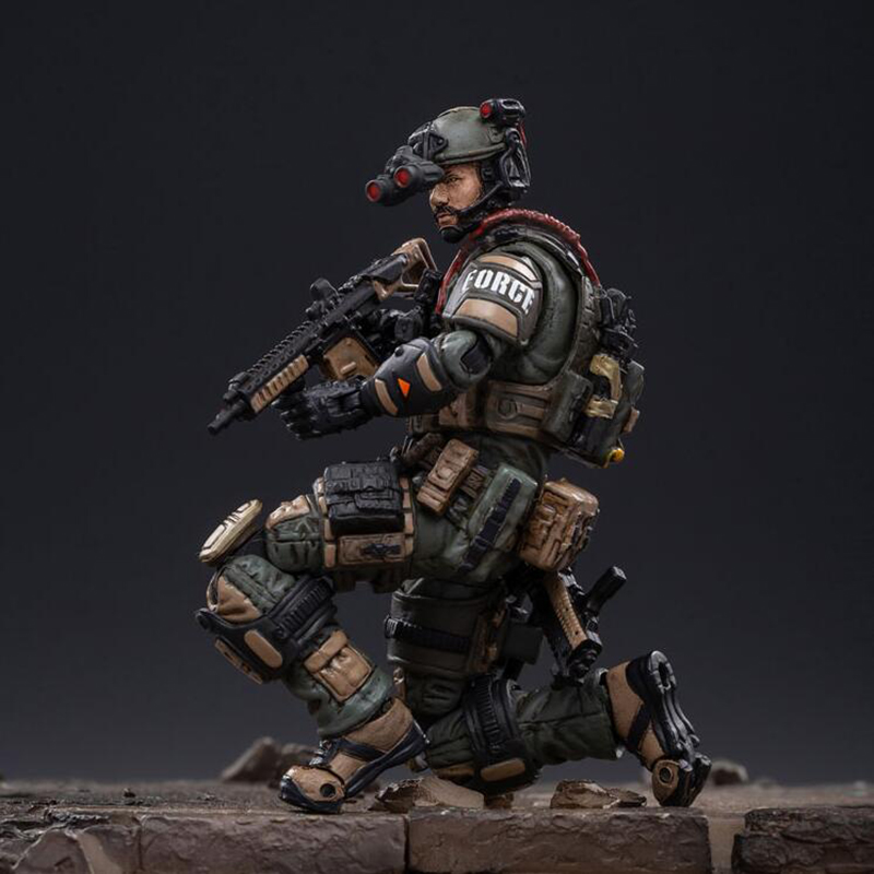 <font><b>1</b></font>:<font><b>18</b></font> special forces soldier <font><b>figure</b></font> CIA action group cavalry regiment hero Action <font><b>Figures</b></font> movable soldiers toy Collectible Model image