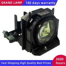 ET LAD60 / ET LAD60W Compatibel Projector Lamp Met Behuizing Voor PT D5000 PT D6710 PT DW6300 PT DZ6700 PT DZ6710E Gelukkig Bate
