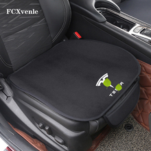 FCXvenle Car Seat Cushion Pad for Tesla Model 3 S X Y Seat Cover Protection Auto Seats Cushion Mats Memory Foam Seat Pad