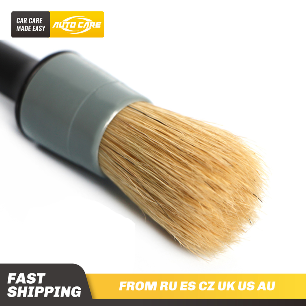 1pc Car Detail Brush Set Scratch Free For Interior And Exterior Detailing Dashboard Air Vent Cleaning Rims Wheels Automotive