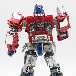 Image 4 - AOYI SS38 Transformation LS 13 LS13 OP commandant avec film léger modèle alliage déformation Action figurine Robot jouets enfants cadeaux