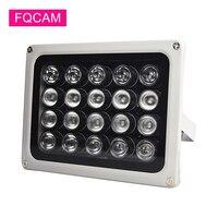LED CCTV de CA de 220V, 20 piezas luz IR CCTV, luz de relleno, iluminador infrarrojos, IP66, 850nm, visión nocturna impermeable para cámara CCTV