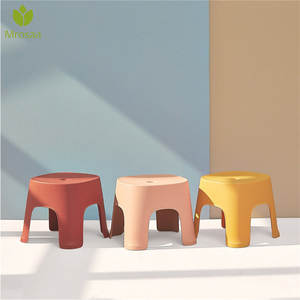 Stools Furniture Bath Living-Room Children Bench No 6-Colors Changing Non-Slip Plain