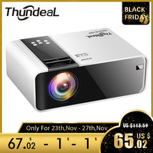 ThundeaL TD90 yerli 720P projektör Android WiFi Bluetooth projektör 3D Video film parti Mini projektör taşınabilir ev sineması