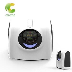 Image 1 - رائجة البيع الرعاية الصحية الطبية المحمولة الكهربائية 6L آلة الأكسجين/مُكثّف أوكسجين