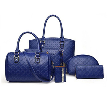 Pu Women Bags Set with 6 Pcs Tote Bags Sling Bag Purse Luxury Handbags Women Bags Designer Crossbody Bags for Women