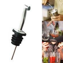 Spirit Pourer Flow Wine Bottle Pour Spout Stopper Stainless Steel Cap 170215