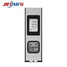 JRTMFG 40m Laser Rangefinder Digital Aluminum Alloy USB Laser Tape Measure Construction Tools MIni Handheld Laser Distance Meter