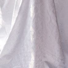 Swiss Voile Lace-Fabric Embroidered Cotton-Materials Nigerian Switzerland African Stones