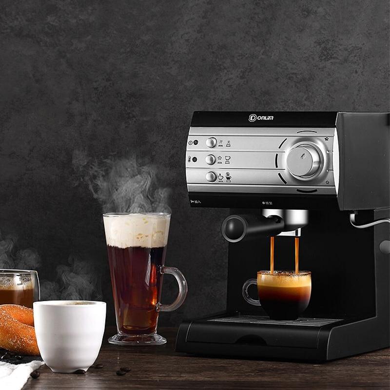 DL-KF6001 coffee machine home small Italian semi-automatic steam foaming