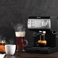 DL-KF6001 espresso makinesi ev ev buhar ev espresso makinesi süt köpüğü yarı otomatik kahve makinesi