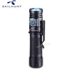 Новый Editabe Skilhunt M200 водонепроницаемый магнитный USB зарядный фонарь Cree XPL LED 1100LM фонарик для кемпинга с магнитом Tai