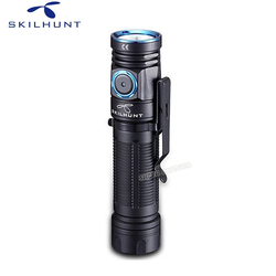 New Editabe Skilhunt M200 Waterproof Magnetic USB Charging Torch Lights Cree XPL LED 1100LM Camping Flashlight with Magnet Tai