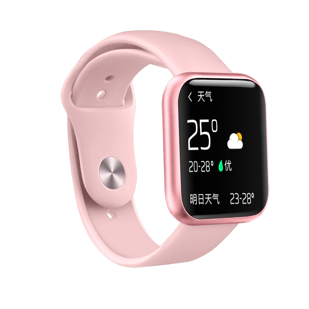 Women Fashion P80 Smart Watch Ip68 Waterproof Heart Rate Blood Pressure For Iphone xiaomi Sport Fitnes Tracker <font><b>Smartwatch</b></font> PK <font><b>P70</b></font> image