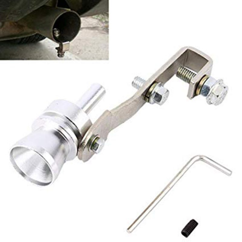 Muffler Exhaust-Pipe Sound-Whistle Universal Aluminum Hot Car-Bov