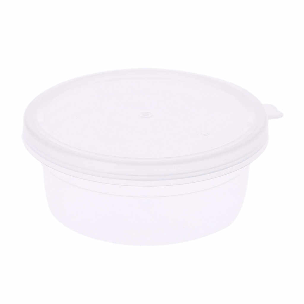 Drop Ship Slime Storage Container Foam Ball Storage Box Case Jars Pots With Lids For Plasticine Soft Clay