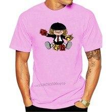 Männer t shirt AC_DC Angus Junges Grafik Gedruckt Sommer Hardrock Musik Band Fan Männlichen T Shirt t-shirt frauen