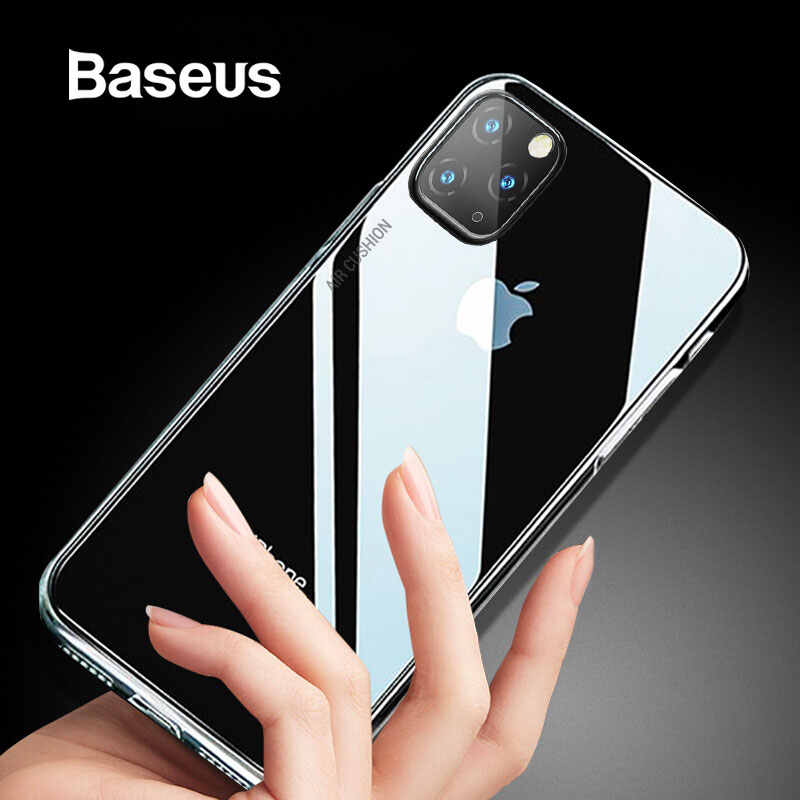 Baseus Anti-klop Case voor iPhone 11 5.8 6.1 6.5 inch 2019 Clear TPU Air Bag Cover voor iPhone 11 Pro 11 Pro Max Telefoon Capa Coque