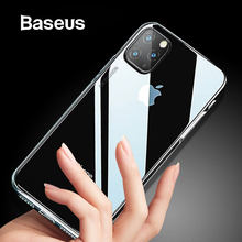 Baseus anti-knock caso para iphone 11 5.8 6.1 6.5 polegada 2019 claro tpu airbag capa para iphone 11 pro 11 pro max telefone capa coque(China)