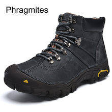 Phragmites Protective Toe Work Safety Shoes Warm Breathable Winter Boots Plus Size 48 Botas Mujer Invierno 2019 Men