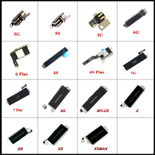 1pcs Vibrator Vibration Flex Cable For iPhone 5 5S 5C 6 6S 7 8 Plus X XS max XR Motor Repair Parts цена и фото