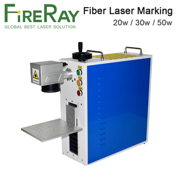 FireRay 20-50W Portable Fiber Laser Marking Machine Laser Source Raycus MAX Mini Marker for Marking Metal Stainless Steel