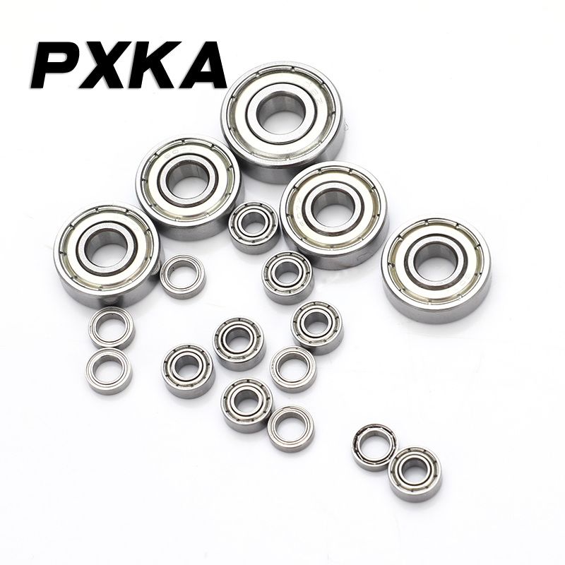 Free Shipping Mini Miniature Bearings MR52 MR62 MR63 MR74 MR83 MR84 85 MR93 MR95 MR104 MR105 MR106 MR115 MR126 MR128 MR148 ZZ