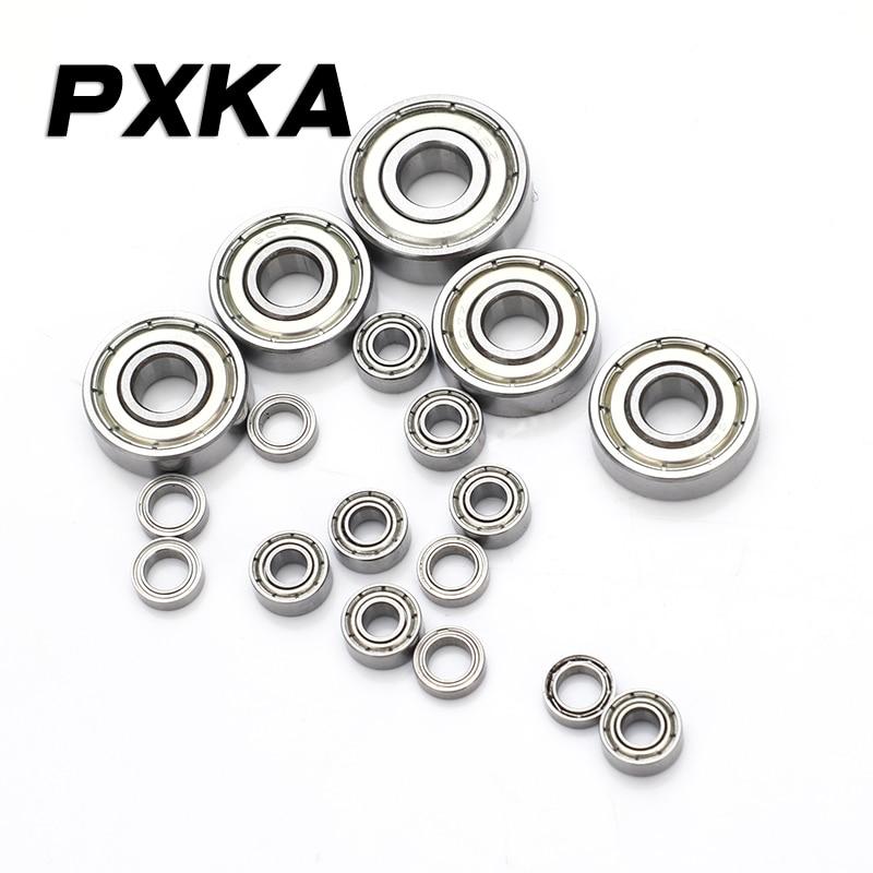 Free Shipping Mini Miniature Bearings MR52 MR62 MR63 MR74 MR83 MR84 85 MR93 MR95 MR104 MR105 MR106 MR115 MR126 MR128 MR148 ZZ