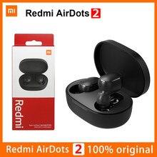 2021 Xiaomi Redmi Airdots 2 Xiaomi Oordopjes Tws Draadloze Koptelefoon Bluetooth 5.0 Stereo Voice Control Headsets Auto Link Met Mic