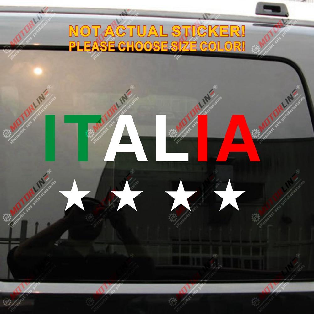 NOS ITALY ITALIAN DECALS STICKERS
