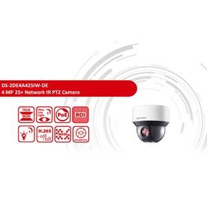 Image 2 - Pre verkauf Hikvision Original PTZ IP Kamera DS 2DE4A425IW DE 4MP 4 100mm 25X zoom Netzwerk POE H.265 IK10 ROI WDR DNR