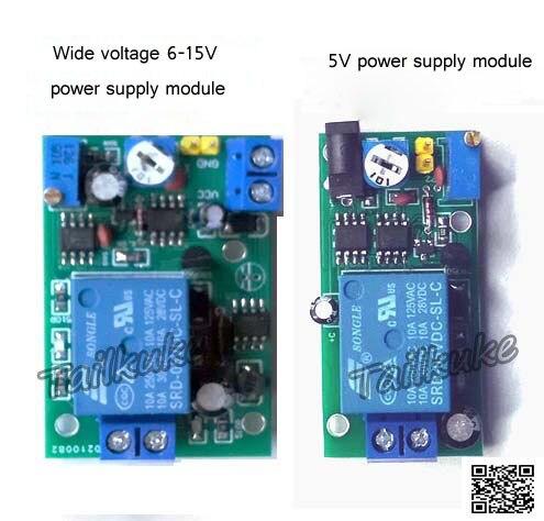 Audio Headphones Pulse Trigger Delay Adjustable Relay Switch Sensor Trigger Audio Control Amplifier