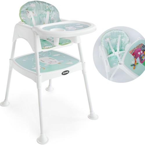 Yoyko High Chair 3 in 1 Muti-function Baby High Chair Foldable Dining Table Chair Kid Feeding Chair