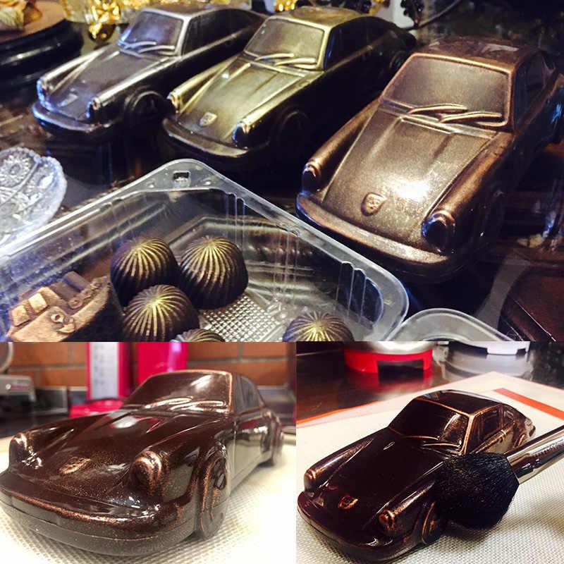 Car Design 3D Muffa Del Cioccolato FAI DA TE Fatti A Mano Torta Della Caramella di Plastica Del Veicolo Strumento di Creazione di Cioccolato stampi Decorazione di Una Torta di Cottura Della Muffa